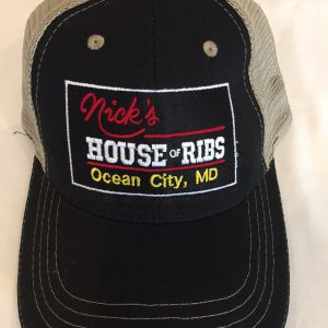 Nick's House of Ribs black hat