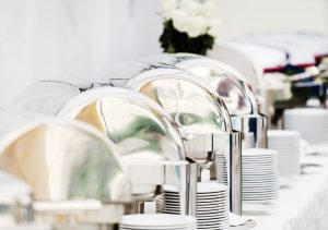 chafing catering dishes