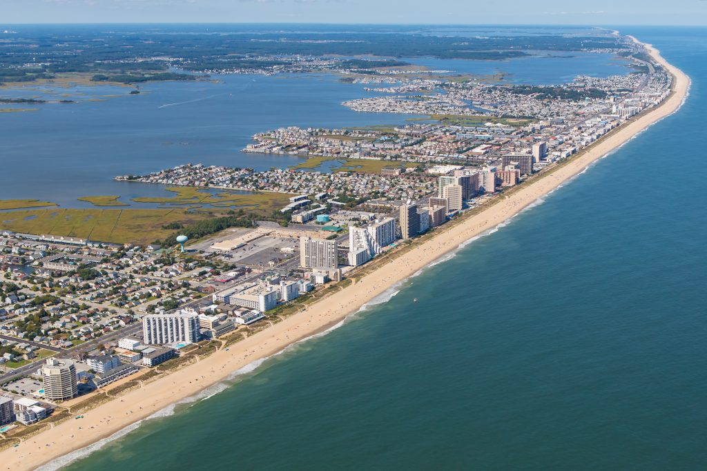 Aerial Photo Of Ocean City Md